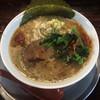 ラーメン ヤスオ - 料理写真:らーめん(細麺) 130g ニンニクショウガ 700円