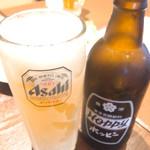 大衆酒場 したぢ屋 - シャリキンホッピー(400円)