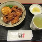 やきとりの扇屋 はなれ - 料理写真:とり玉天丼 650円