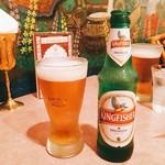 ナイルレストラン - インドビール @700円