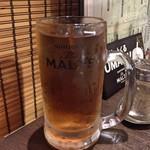 焼肉バル 29SHOCK - 烏龍茶