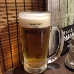 焼肉バル 29SHOCK - 生ビール(ザ・モルツ)