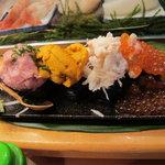 神田江戸ッ子寿司 - 凄いぞ 豪華4点盛1600円