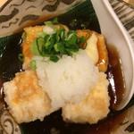 晴 - 揚げ出し豆腐