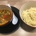 麺屋 青空 - カレーつけ麺☆★★☆整いました(´∀`) 麺2玉