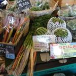 ヤサイクル - 野菜販売ブース