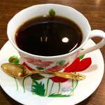 ジャイアントコーヒーハウス - ドリンク写真:「ホットコーヒー」(380円)。モーニングタイムには単品で350円になる。