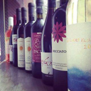 もちろんワインもナチュラルな味わいの自然派です。