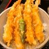 富水 - 料理写真:天丼