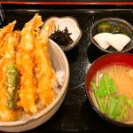 富水 - 天丼1000円