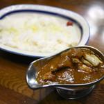 インディラ - チキンカレー(辛口)¥1,360