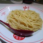 蒙古タンメン中本 - 冷やし五目味噌タンメン(麺)