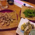 いぶき地 - 枝豆・ゆでピーナッツ(2017.6)