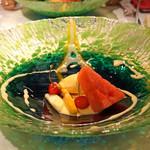 ラ・ビュット・ボワゼ - 瀬戸田の山崎さんのオーガニック レモンチェッロ 夏のフルーツ クレーム ド オレンジ