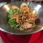 らーめん七福神 - 冷麺(ごまだれポン酢)