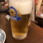赤札屋 - 生ビール
