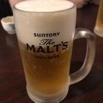 居酒屋のぶさん - 生ビール