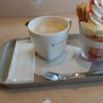カフェ ソラーレ - 苺ミルフィーユ