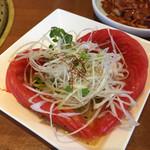 スタミナ苑 - トマトのサラダ