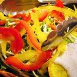 さかなや道場 - 生野菜サラダ