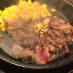 いきなり!ステーキ - 料理写真:ランチ ワイルドステーキ 300g