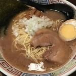 長浜ラーメン - 料理写真:【2017.6.18】正油ラーメン¥600