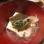 居酒屋 ちょーちょ - 上村豆腐店の豆腐