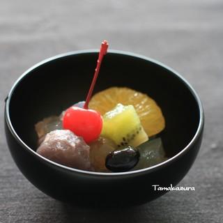 創作和菓子 ほのか - 料理写真:あんみつ