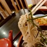 69401794 - 【2017.7.01(土)】ランチセット(ざるそば+かき揚げ)1,000円の麺