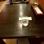 信州蕎麦の草笛 - 【2017.7.01(土)】テーブル席