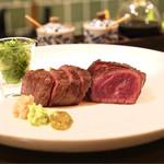 アヒル - 神戸牛炙り 1440円