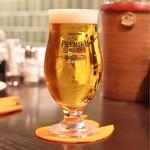 アヒル - 生ビール 610円