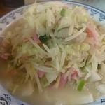 井手ちゃんぽん - ちゃんぽん 野菜大盛 1,000円