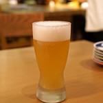 うどん酒場 香川一福 - 生ビール