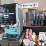 サウスエルフィン - ドリンク写真:ドリンクバーのコーヒーマシン