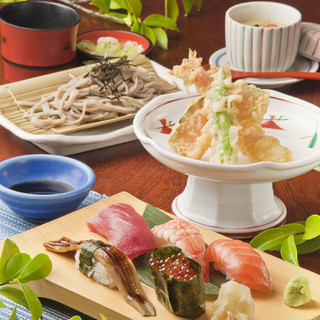 「にぎり寿司御膳」