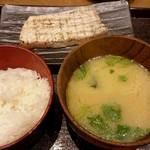 越後屋亀丸 - 日替わりのトロカジキの炙りステーキ