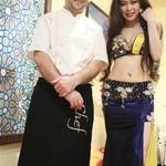 トルコ料理&地中海料理メッゼ - ダンサーとツーショット