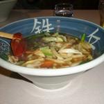 鉄兵ラーメン - 料理写真:鉄平ラーメン(醤油) \790