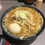 麺匠 玄龍 - 味噌らーめん+煮卵