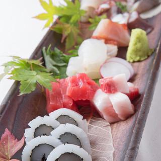 産地直送の新鮮な魚★☆