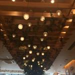 キーズ・カフェ - 天井にもこだわりがありました