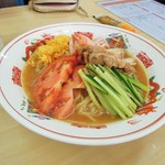 中華料理天鳳 - 冷麺の裏側?