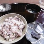文禄堤 茶味 - 食事