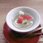 文禄堤 茶味 - 蜂蜜レモンゼリー