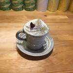 CHA-salon SAKURA-MOMIJI - ホイップONほうじ茶