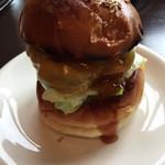ハロー ハンバーガー - テリヤキチーズバーガー