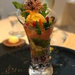 69408871 - AIDAスペシャリテ 季節の野菜パフェ