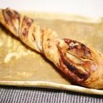 ブーランジェリー ラ・テール - バゲット・フィユテ フランボワーズとクリームチーズ¥350