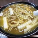 武田屋そば - 料理写真:カレー南蛮そば